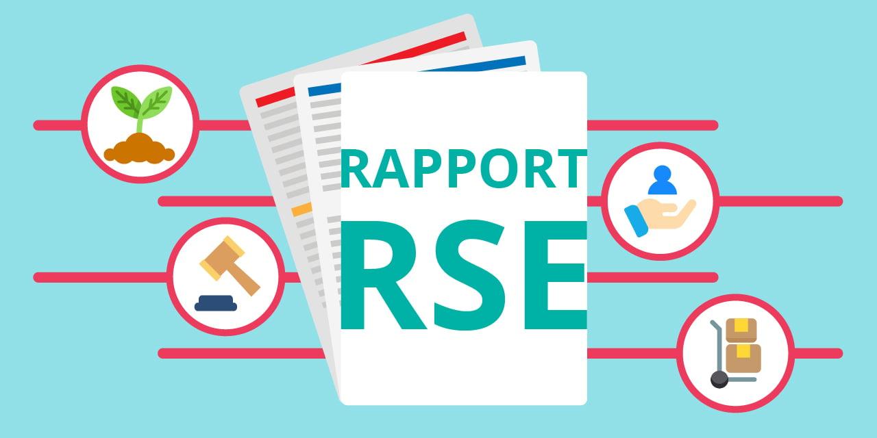infographie illustrant le Rapport RSE