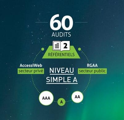 Cette synthèse de l'étude établit un classement fondé sur 13 thèmes et 60 critères d'acessibilité numérique