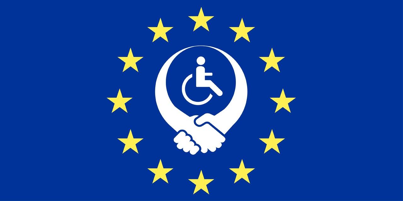 Image illustrant l'Union Européenne et le handicap