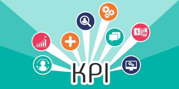 Infographie illustrant les KPIs du Digital Publishing