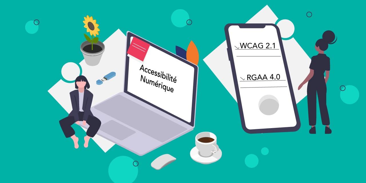 Image illustration sur les règles d'accessibilité du W3C