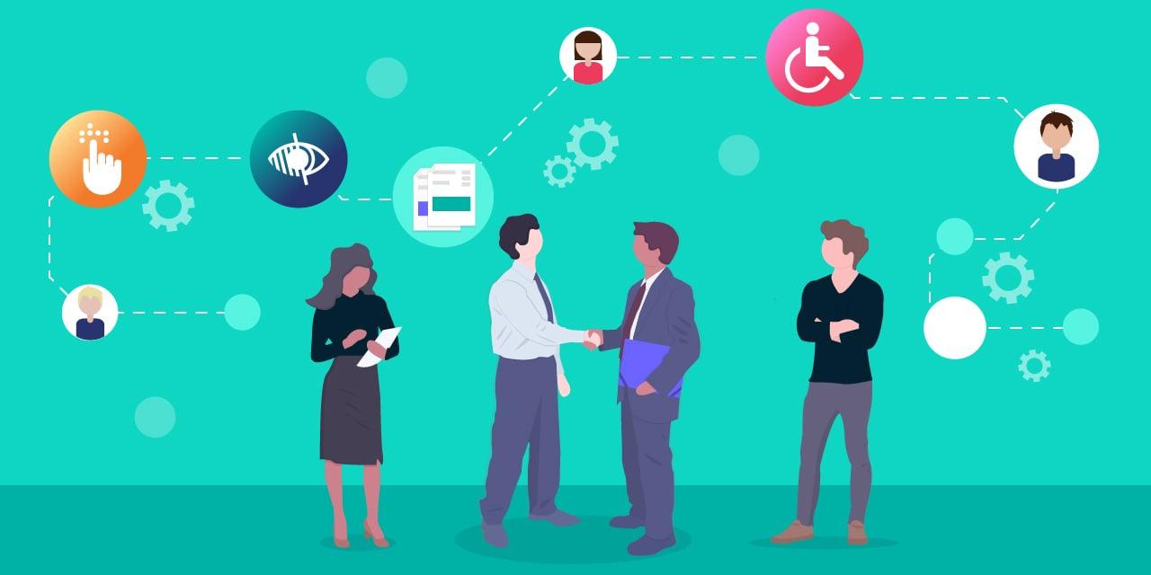 Image illustrant comment mettre en place un référent en matière d'accessibilité