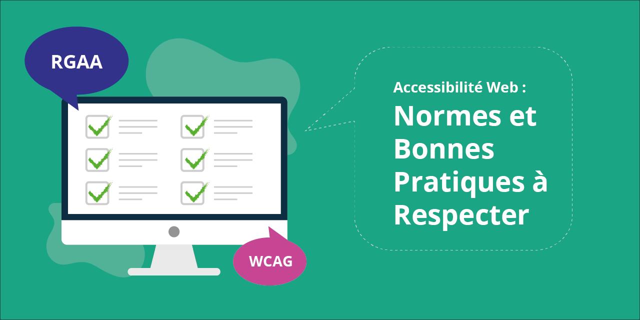 Image illustrant les règles d'accessibilité numérique et comment s'y conformer