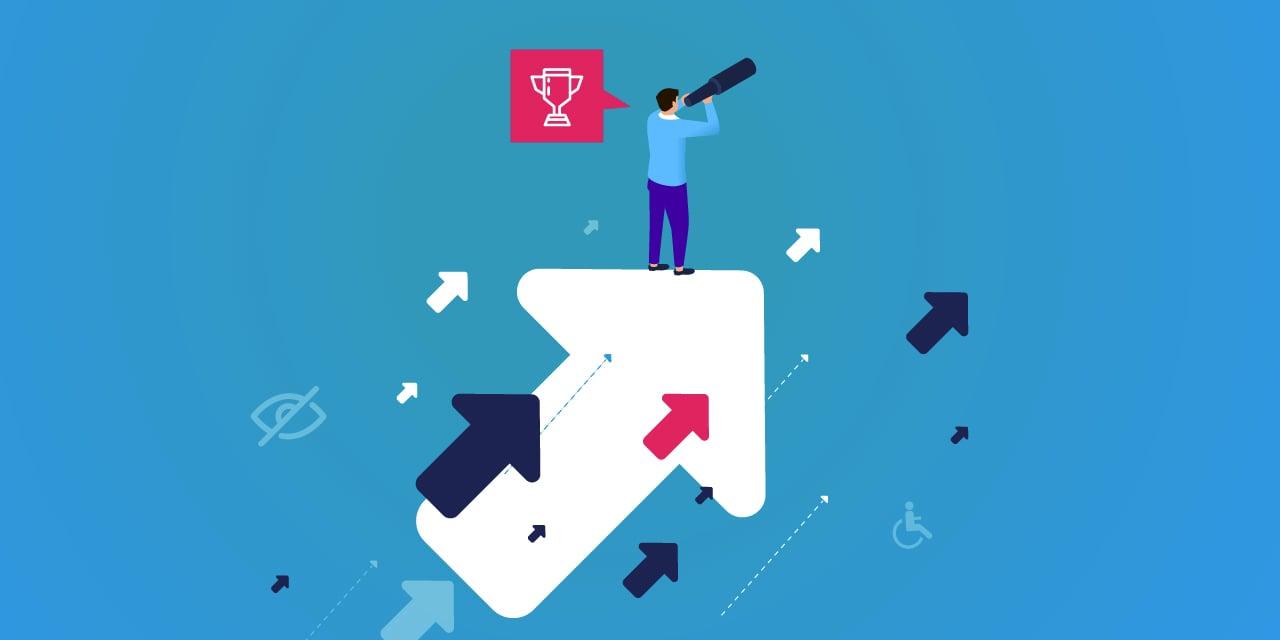 Image illustrant l'établissement des objectifs avec des indicateurs clés de performance (ICP) et un plan d'action