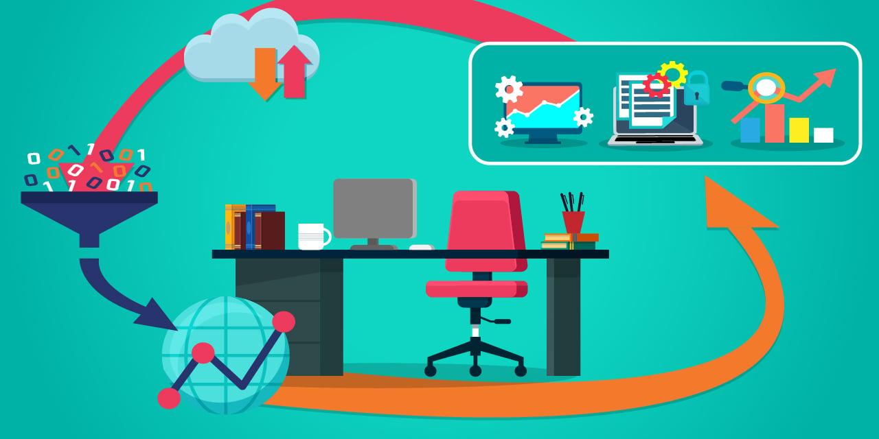 Image d'illustration de la gestion intelligente et opérationnelle des données collectées