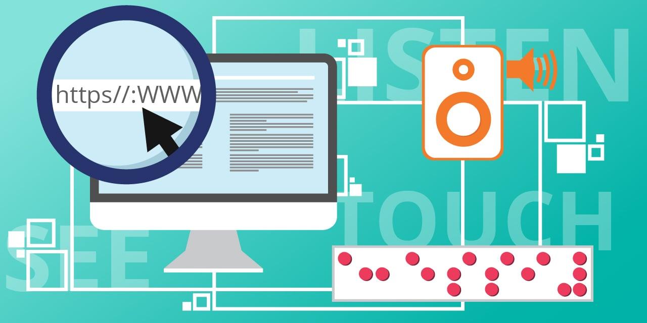 Comment les personnes handicapés profitent de l'accessibilité numérique pour naviguer sur le web
