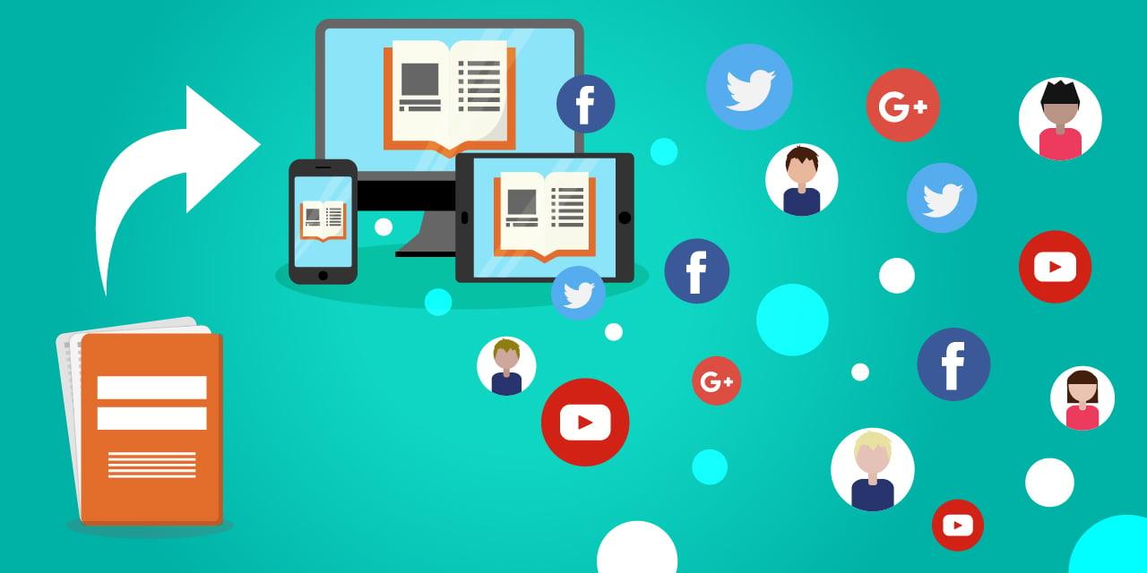 Image d'illustration pour diffuser des publications non compatibles aux médias sociaux