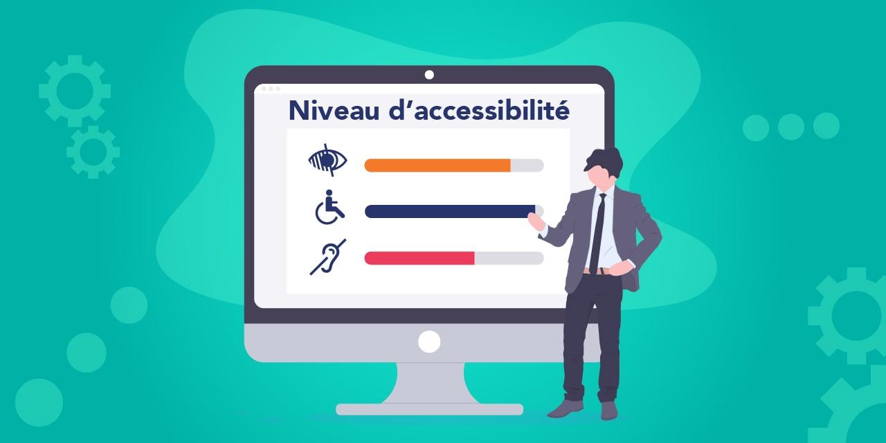 Image illustration sur l'évaluation du niveau d'accessibilité de votre site web