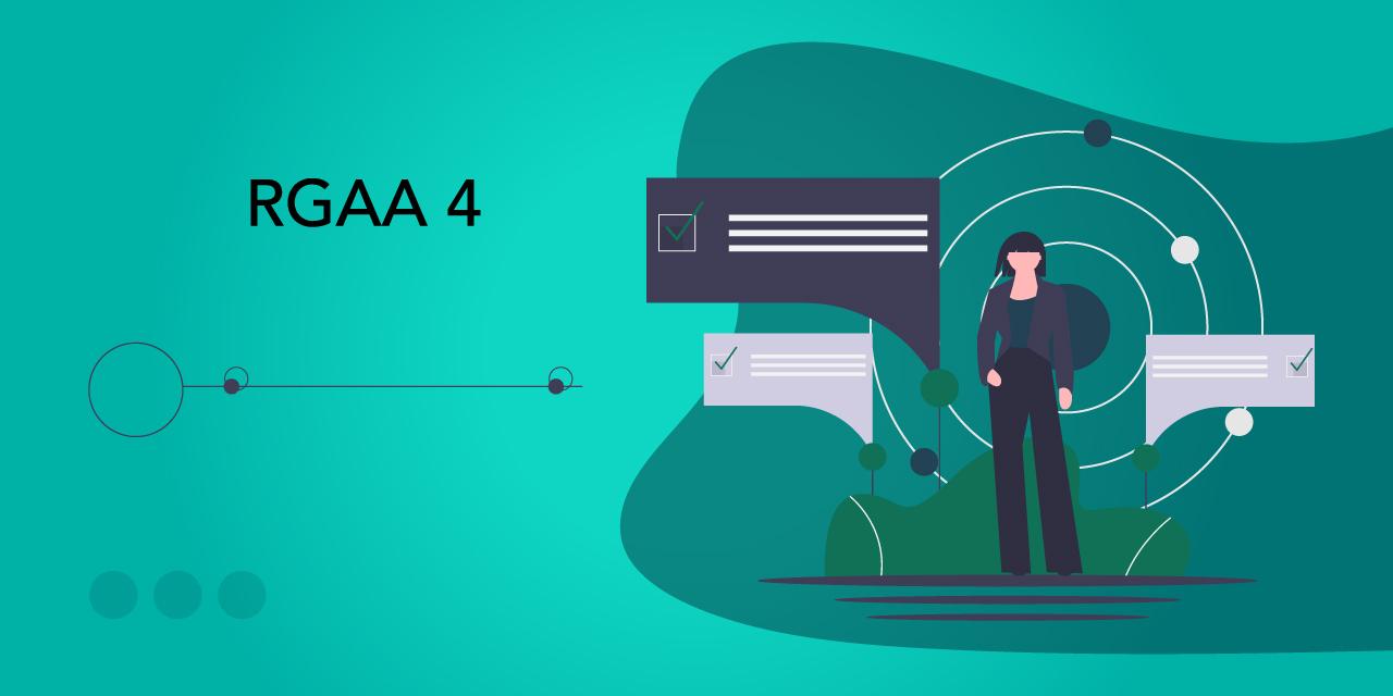 Images illustrant les nouveautés du référentiel RGAA 4 par rapport à la précédente version