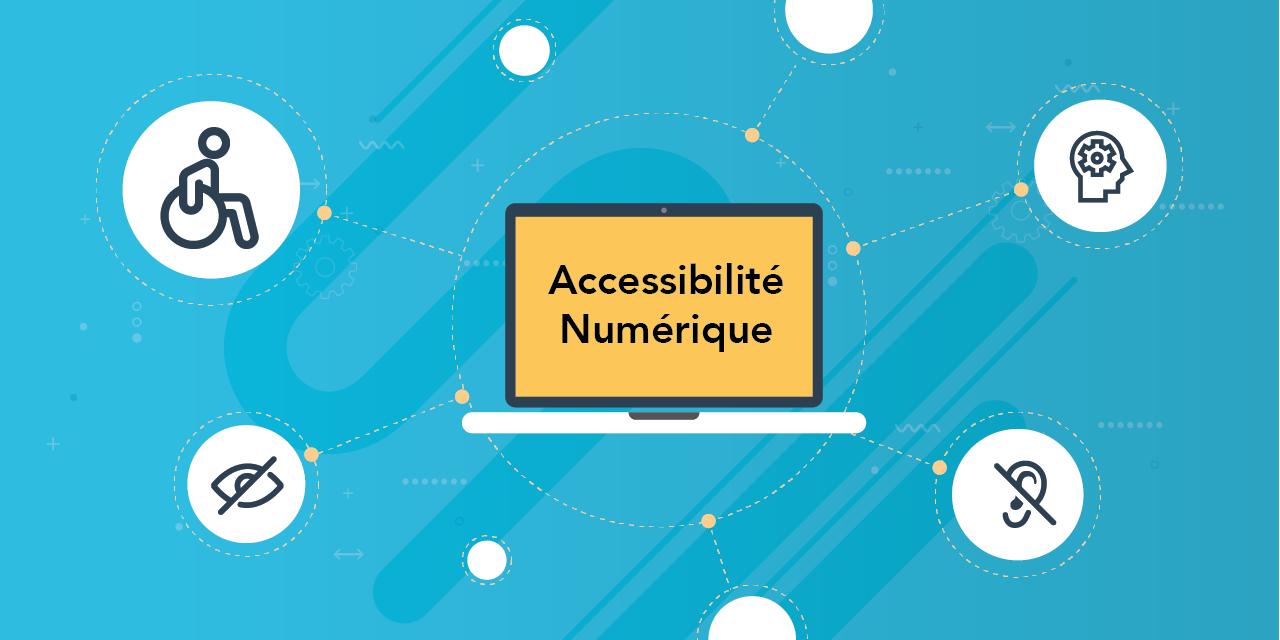 Image illustration de l'accessibilité numérique